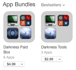 Darkness Production App Bundles